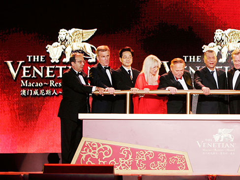 The Grand Opening of The Venetian® Macao-Resort-Hotel